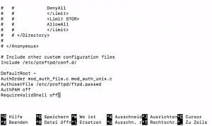 Code für Datei - FTP