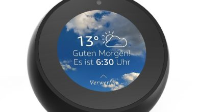 Photo of Amazon Echo Spot: 2 Geräte kaufen, 40 Euro sparen