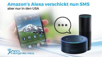 Alexa macht SMS Versand möglich