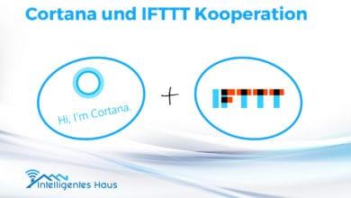 Cortana und IFTTT Kooperation