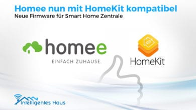 Photo of Homee ist nun mit HomeKit kompatibel: Neue Firmware für Smart Home Zentrale