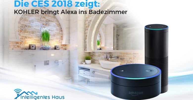 CES 2018 - Mit KOHLER Konnect Alexa im Badezimmer bedienen