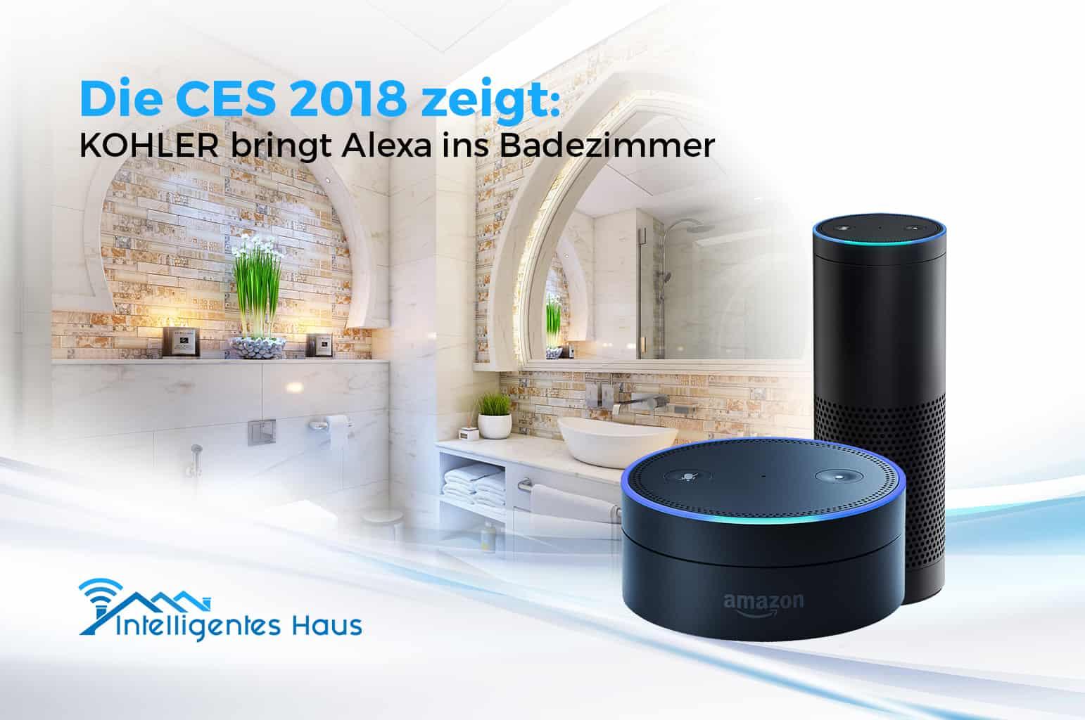 CES 20   Mit KOHLER Konnect Alexa im Badezimmer bedienen