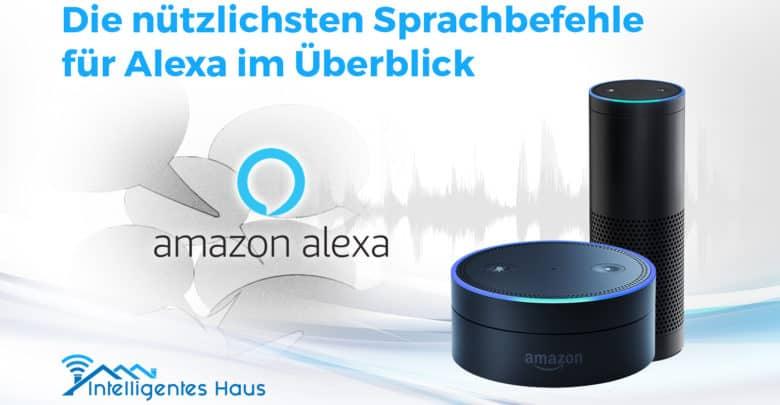Sprachbefehle für Alexa