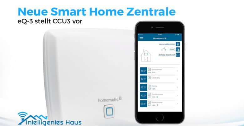 Homematic Ip Wired Kabelgebundene Smart Home Zentrale Ccu3