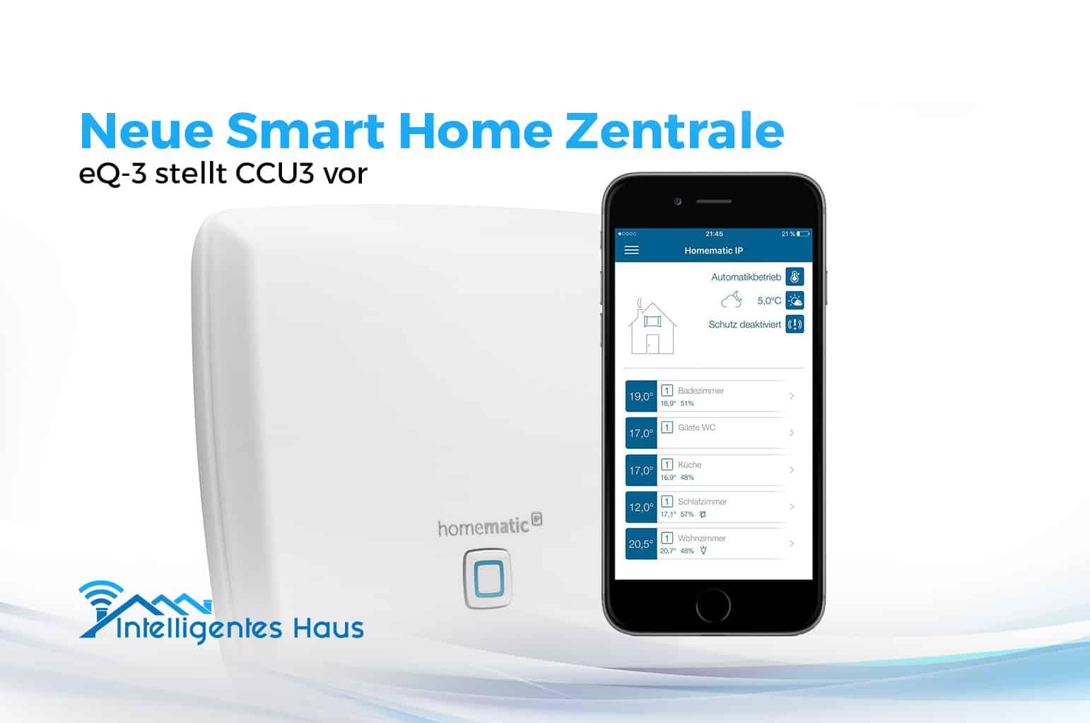 homematic ip wired kabelgebundene smart home zentrale ccu3. Black Bedroom Furniture Sets. Home Design Ideas