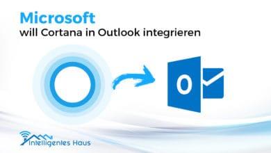 Outlook mit Cortana integrieren