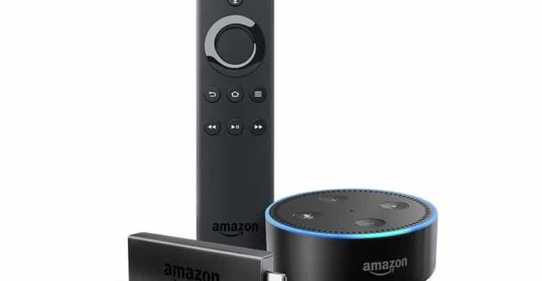 fire tv stick und amazon echo dot im set kaufen und sparen. Black Bedroom Furniture Sets. Home Design Ideas