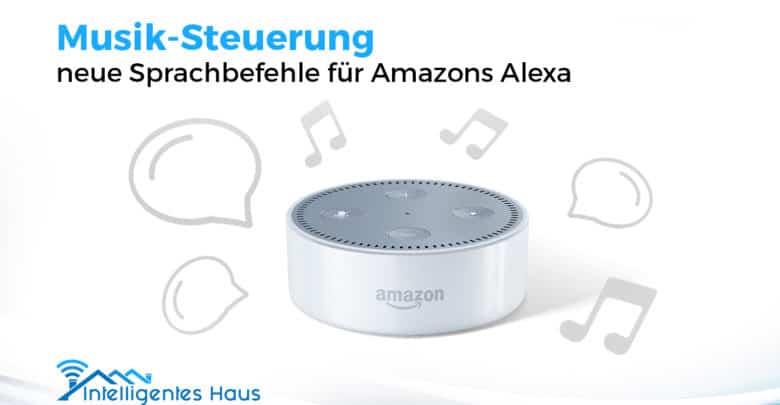 Amazons Alexa Bekommt Neue Sprachbefehle Zur Musik Steuerung