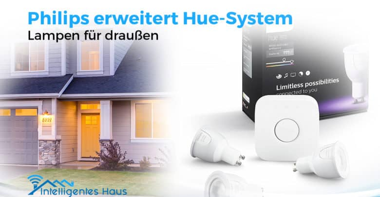 erste outdoor lampen f r das philips hue system. Black Bedroom Furniture Sets. Home Design Ideas