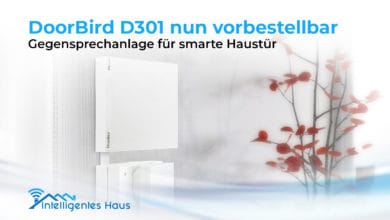Photo of DoorBird D301 nun vorbestellbar: Gegensprechanlage für smarte Haustür