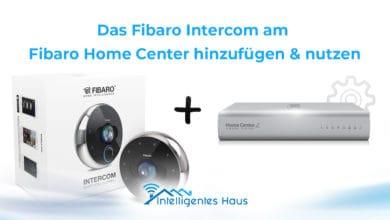 Fibaro Intercom zum Home Center hinzufügen
