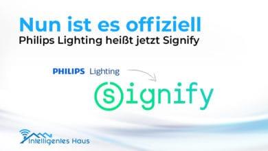 Namensänderung Philips Lighting