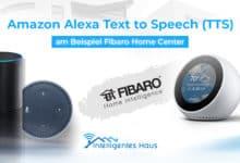 Alexa TTS mit Fibaro Home Center umsetzen