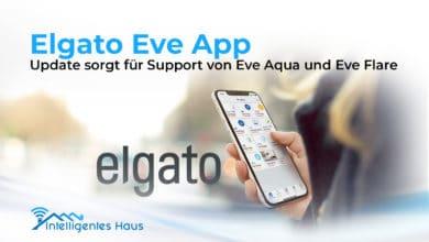 Elgato Eve Update für App