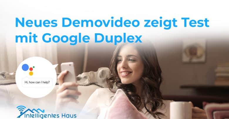 Google Duplex Demovideo