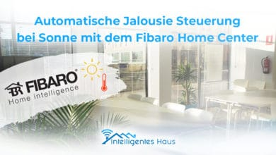 Jalousie mit Home Center steuern