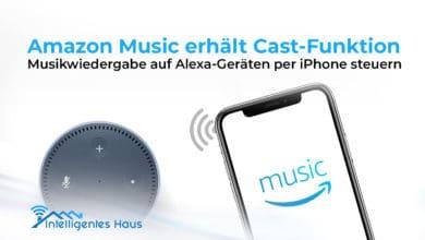 Amazon Music per iPhone via Amazon Echo steuern