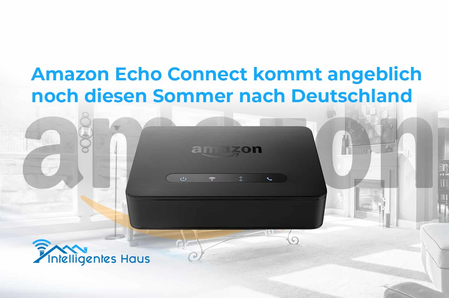 amazon echo connect deutschlandstart vermutlich noch. Black Bedroom Furniture Sets. Home Design Ideas