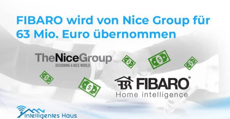 Fibaro wird von Nice übernommen