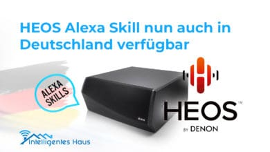 Alexa Skill für HEOS Geräte