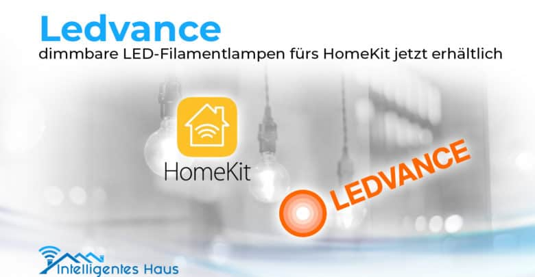 ledvance bringt dimmbare homekit leuchten mit leds auf den markt. Black Bedroom Furniture Sets. Home Design Ideas