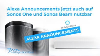 Alexa Announcement Funktion