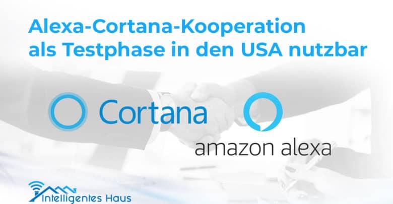 Alexa Cortana Zusammenarbeit