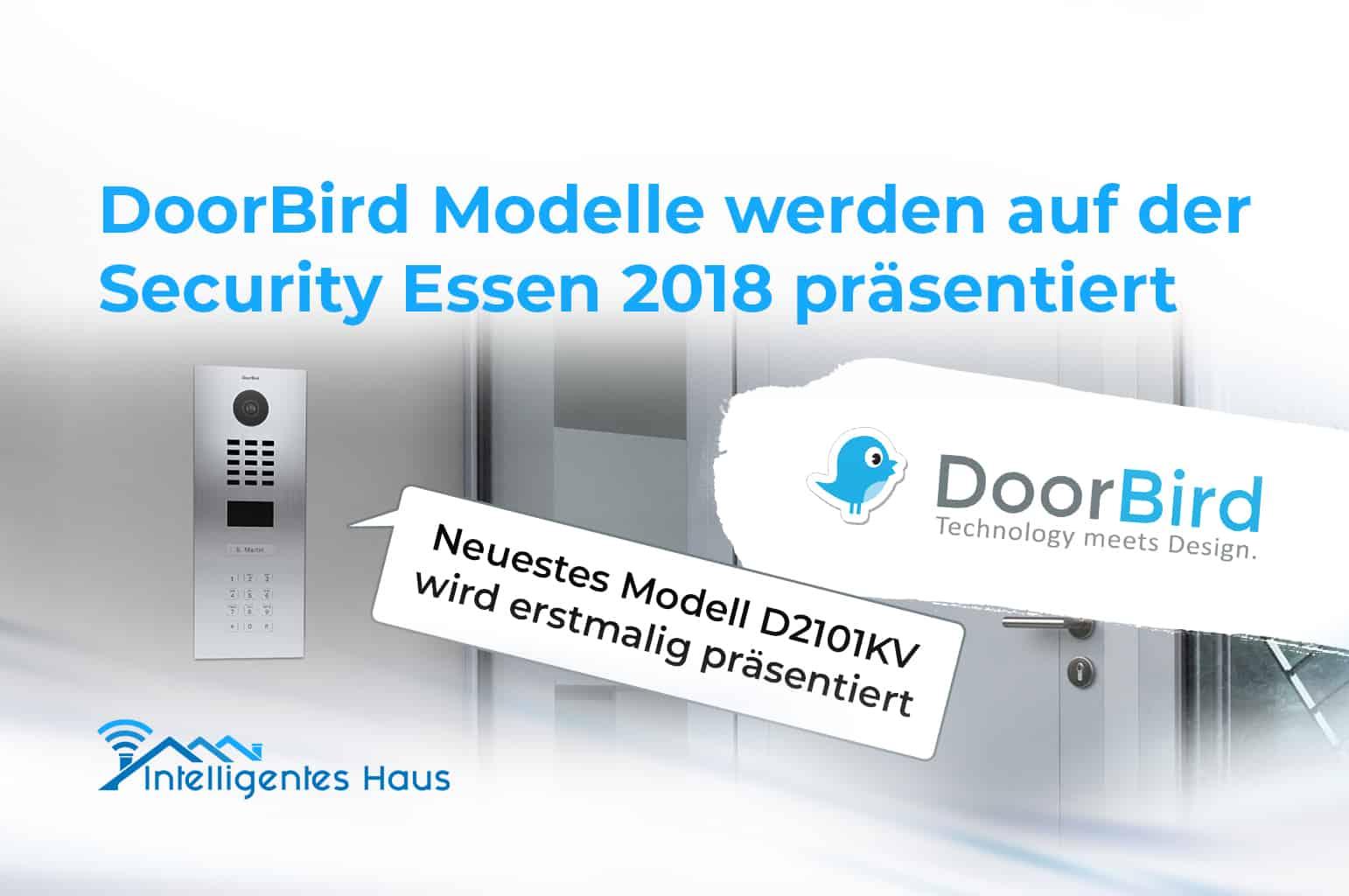 Präsentation von DoorBird Modellen