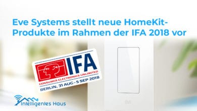 Eve Systems HomeKit-Produkte