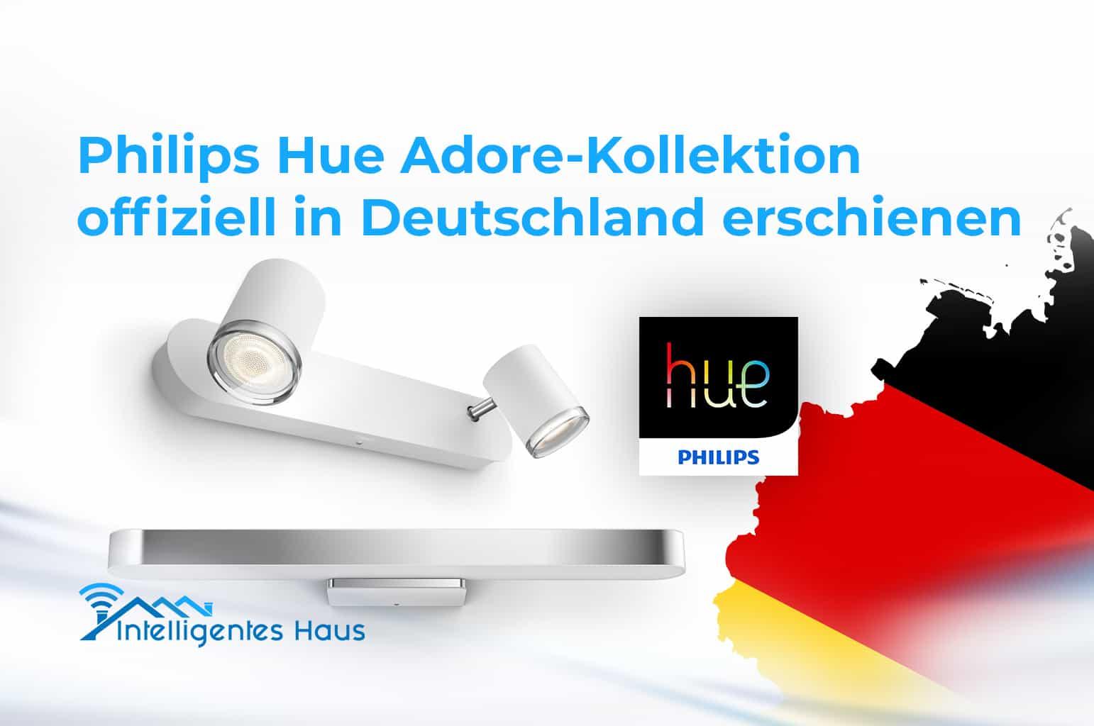 neue philips hue adore kollektion f rs badezimmer ist in deutschland erschienen. Black Bedroom Furniture Sets. Home Design Ideas
