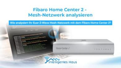 Mesh Netzwerk über Home Center analysieren