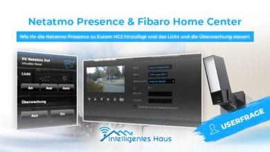 Netatmo Presence mit Home Center steuern