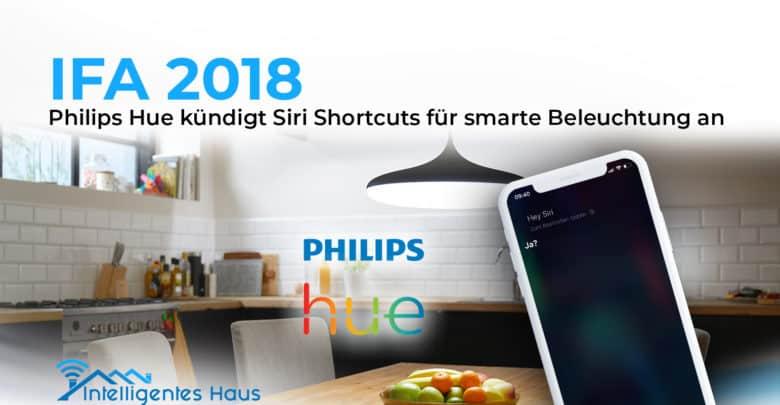 Siri Shotcuts für Hue-Leuchten
