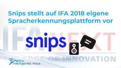 Snips IFA 2018