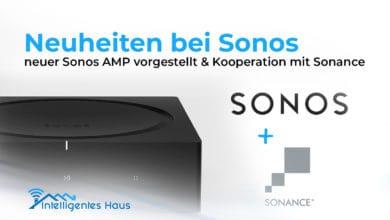 neuer Sonos AMP und Sonance Kooperation