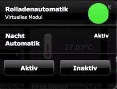 virtuelles Modul Rollladen