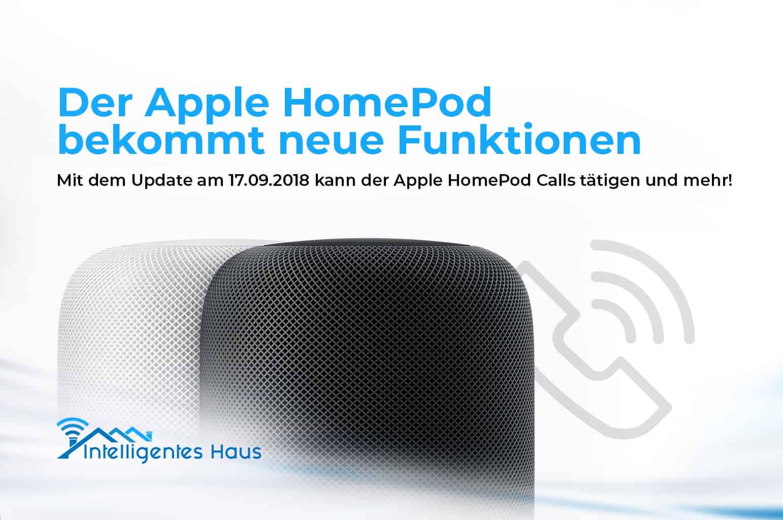 apple homepod bekommt neue funktionen calls werden m glich. Black Bedroom Furniture Sets. Home Design Ideas