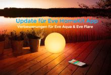 Eve HomeKit App