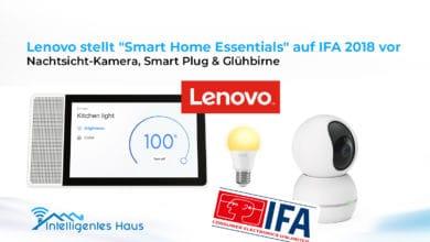neue smarte Lenovo Geräte