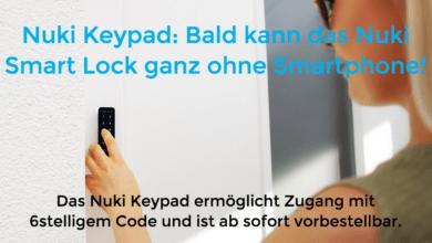 Nuki Keypad vorbestellbar