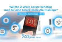 Z-Wave Geräte für Alarmanlage