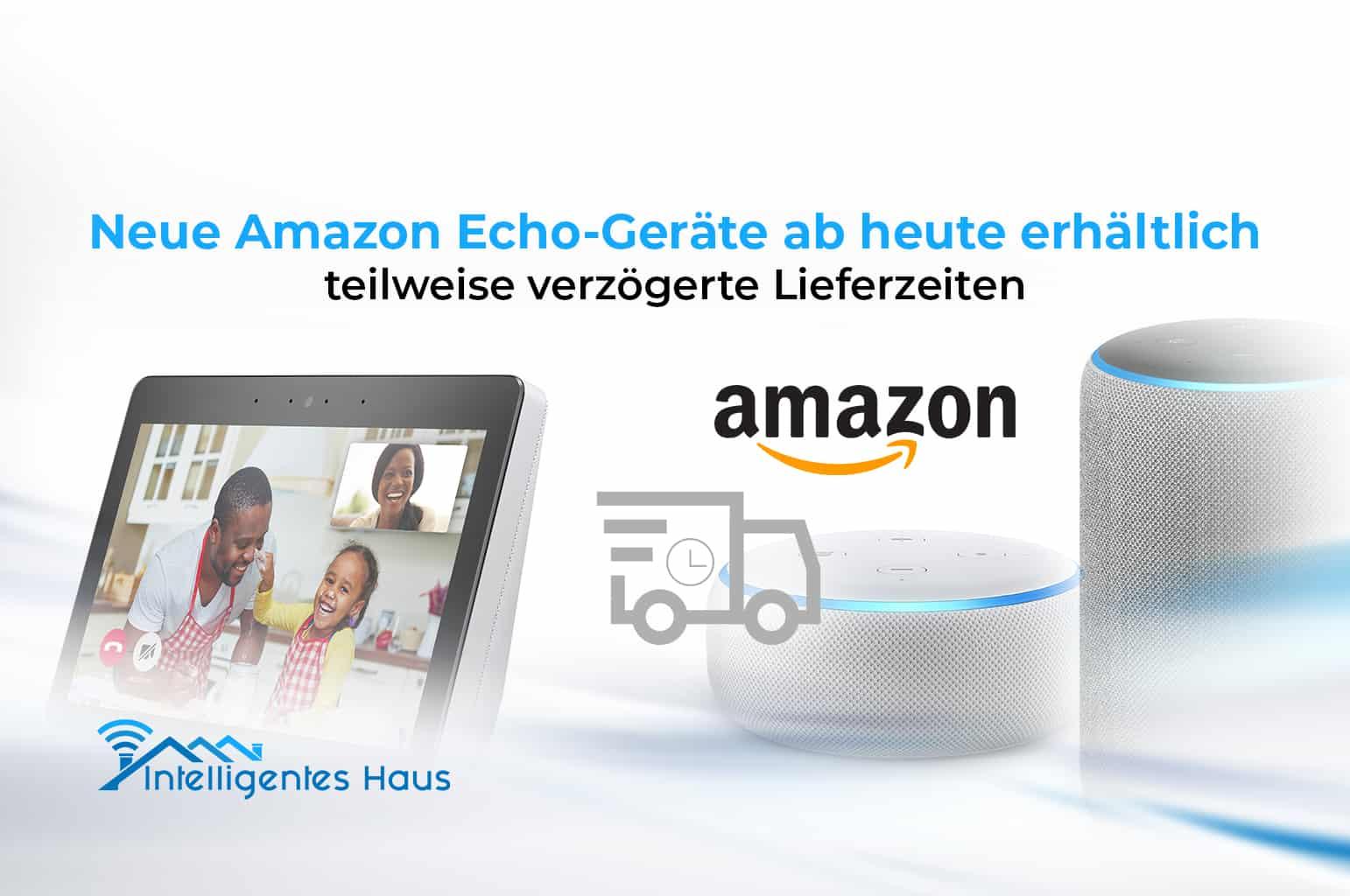 Neue Echo-Geräte 2021