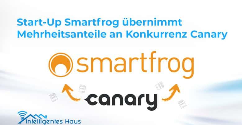 Zusammenarbeit Smartfrog und Canary