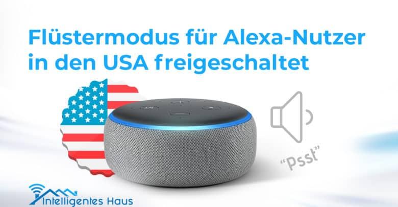 Alexa Flüsterton