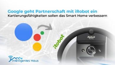 Partnerschaft Google und iRobot
