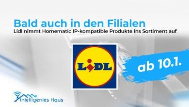 Lidl kompatible Homematic IPProdukte