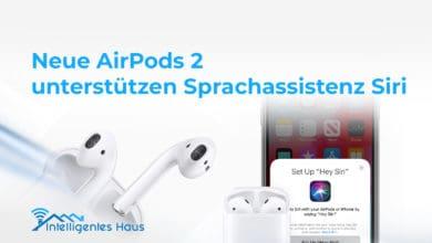 Siri-Unterstützung für neue AirPods 2