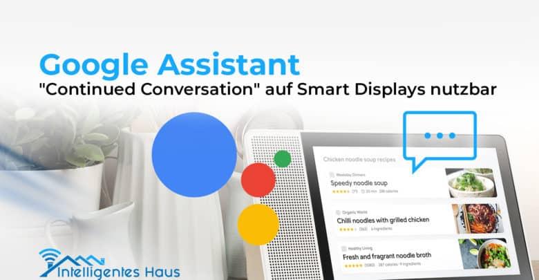 Google Assistant Neuerung