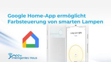 Home-App ermöglicht Farbsteuerung